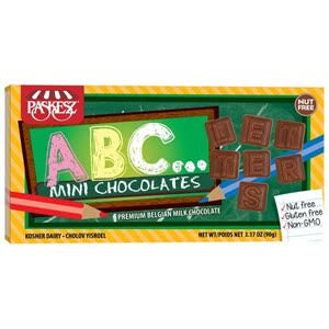 Paskesz Dairy Chocolate ABC Gift Box