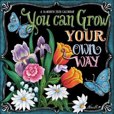 BrownTrout You Can Grow Your Own Way 2020 Mini Wall Calendar