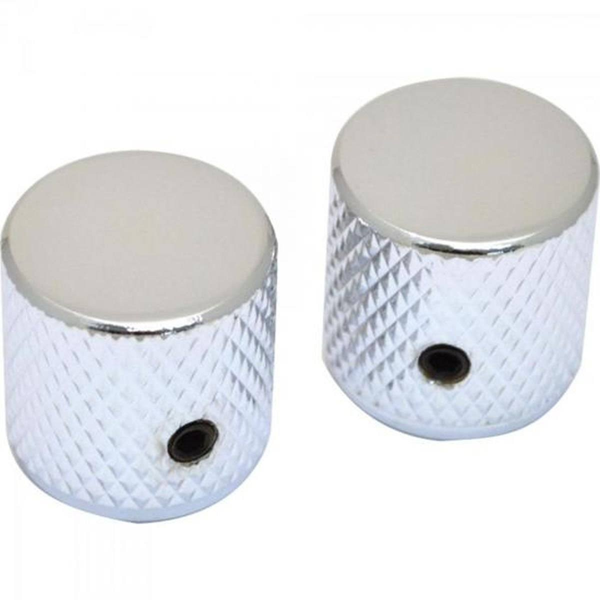 Fender Telecaster/Precision Bass Knobs - Knurled Chrome