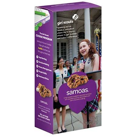 Girl Scouts Samoas Cookies