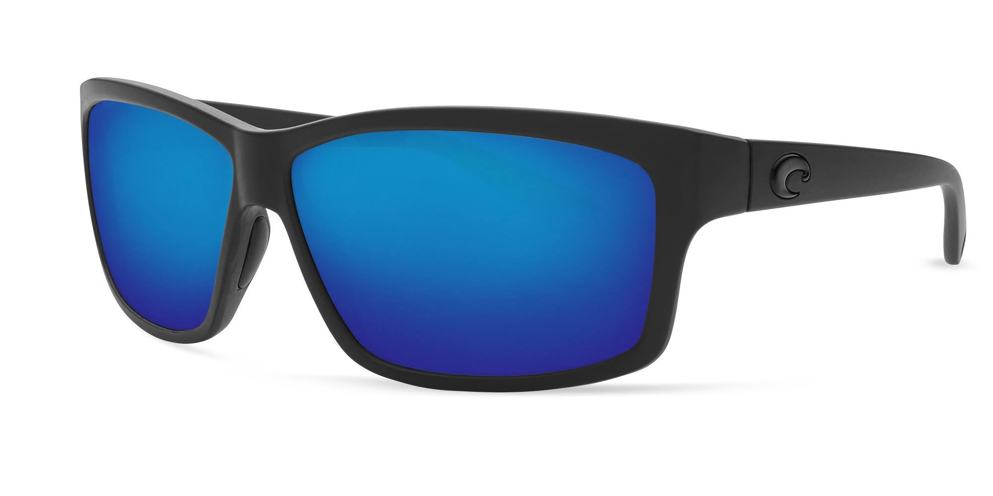 Costa Del Mar Sunglasses - Polarized Cut Blackout and Blue Mirror, 580g