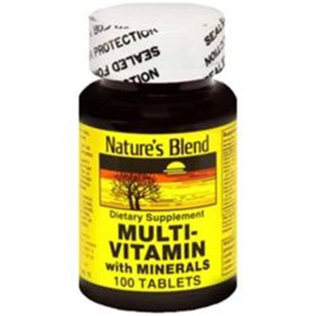 Nature's Blend Multi Vitamin with Minerals - 100ct