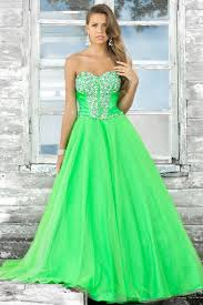 neon green prom dresses neon green and white wedding dresses