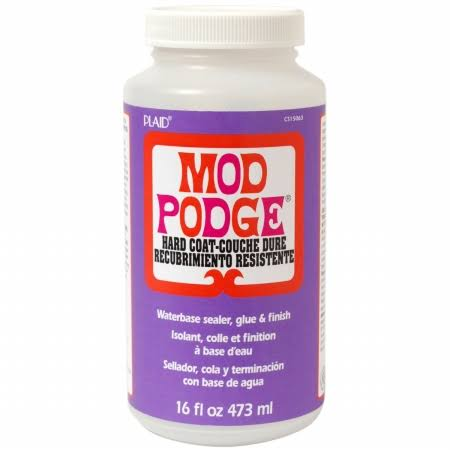 Mod Podge Hard Coat Waterbase Sealer - 16oz