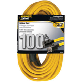 Power Zone Extension Cord - Yellow