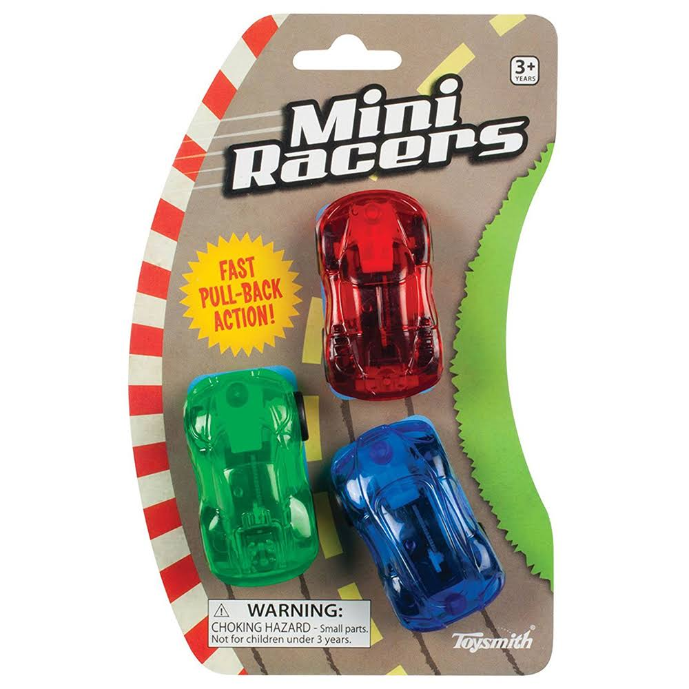 Toysmith Mini Pull Back Racers