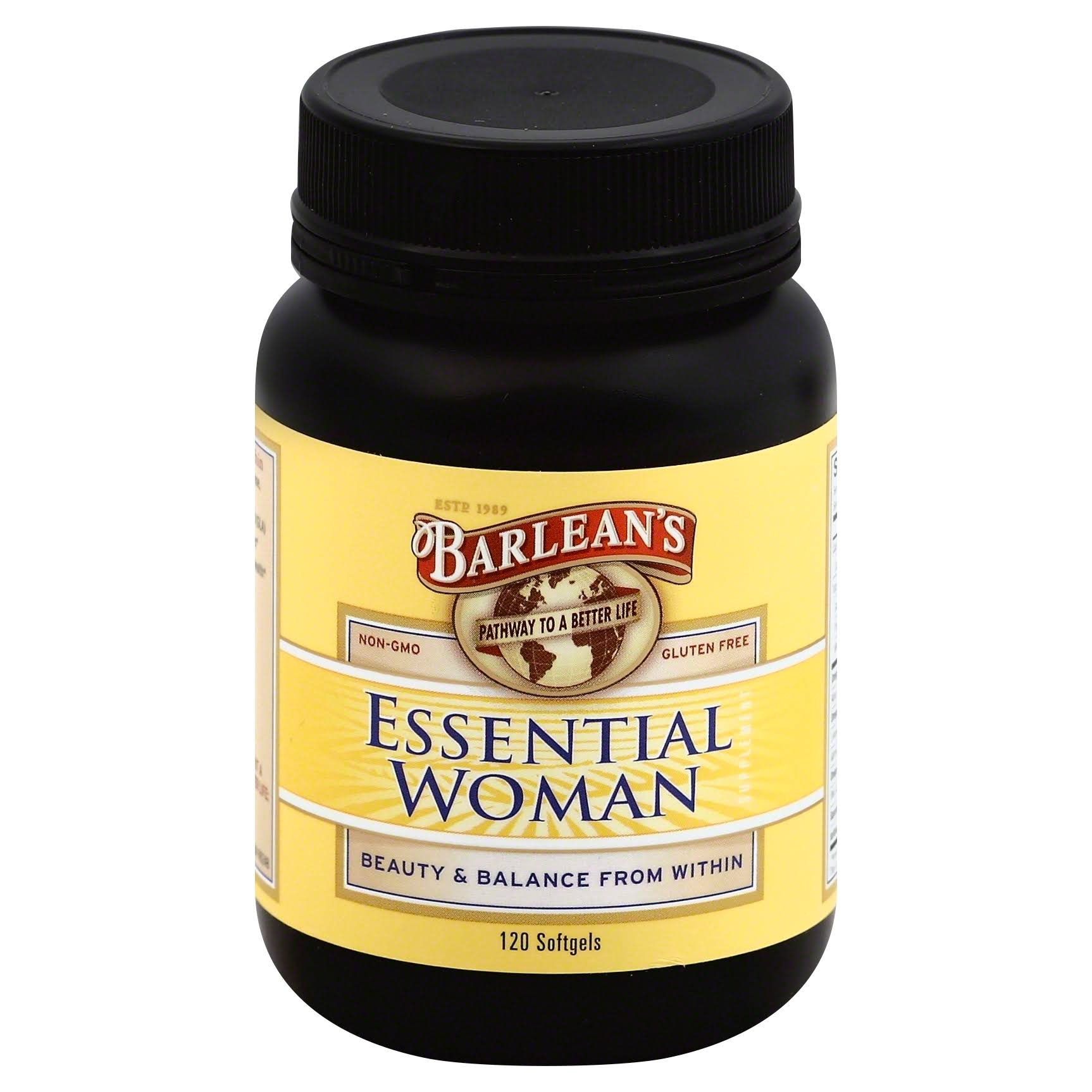 Barlean's The Essential Woman - 1000 mg, 120 softgels