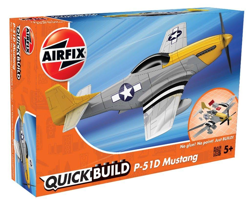 Airfix Quick Build Mustang P-51D Model Kit