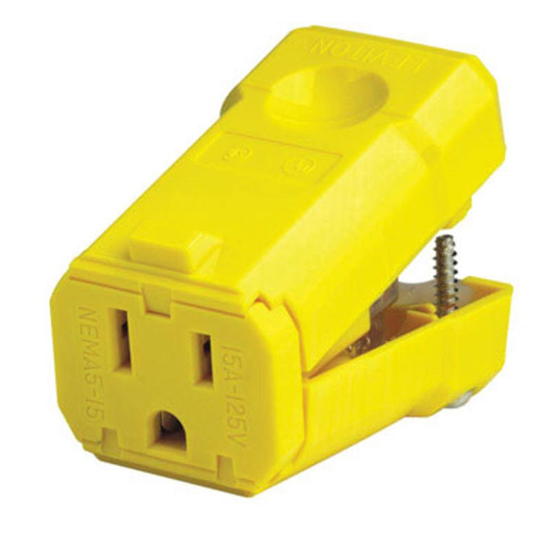 Leviton Connector - 15 Amp, 125V