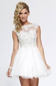 2015 semi formal dresses a line v back tulle short mini white crew