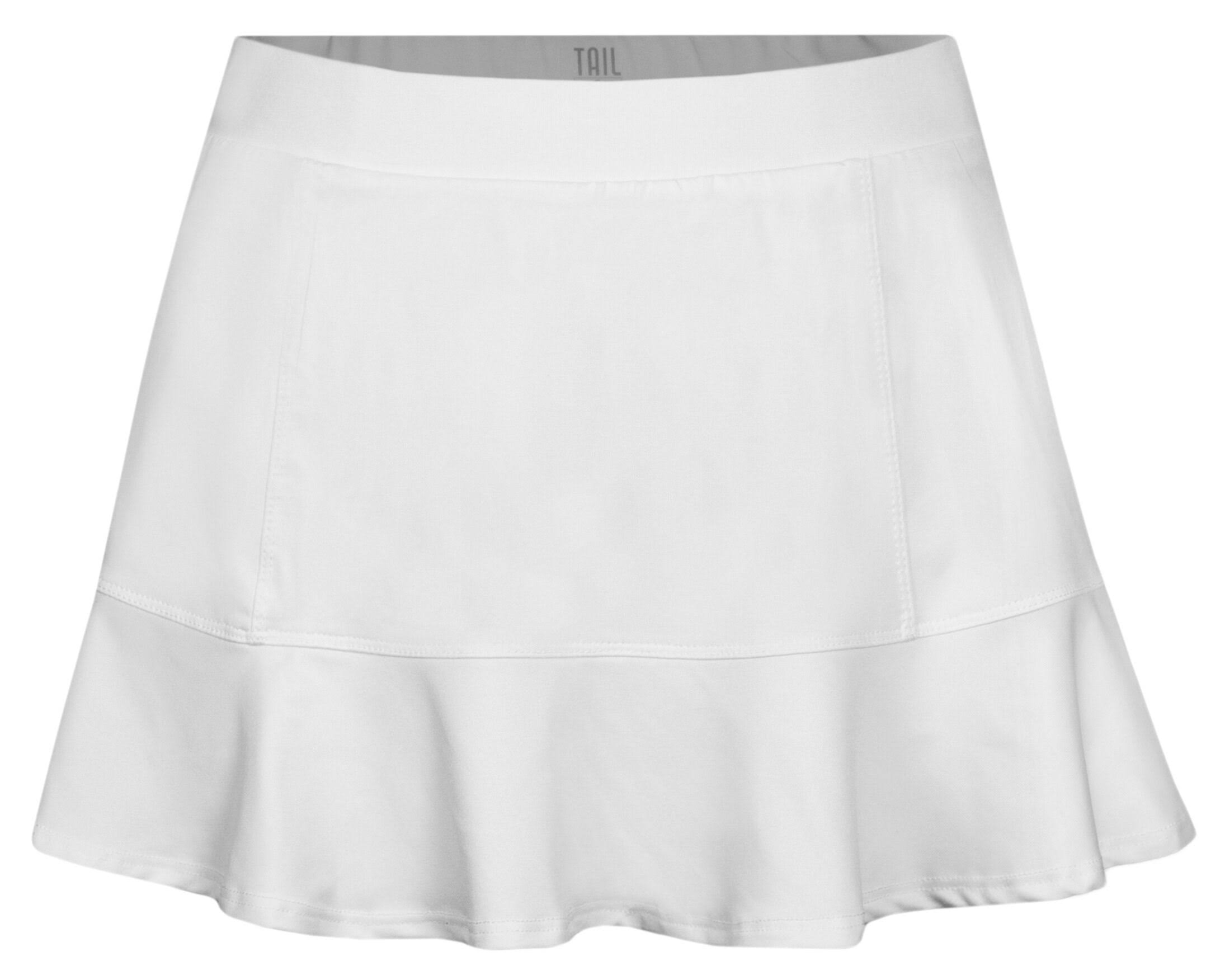 Tail Women's Jennifer Tennis Skort - White, 12.5''
