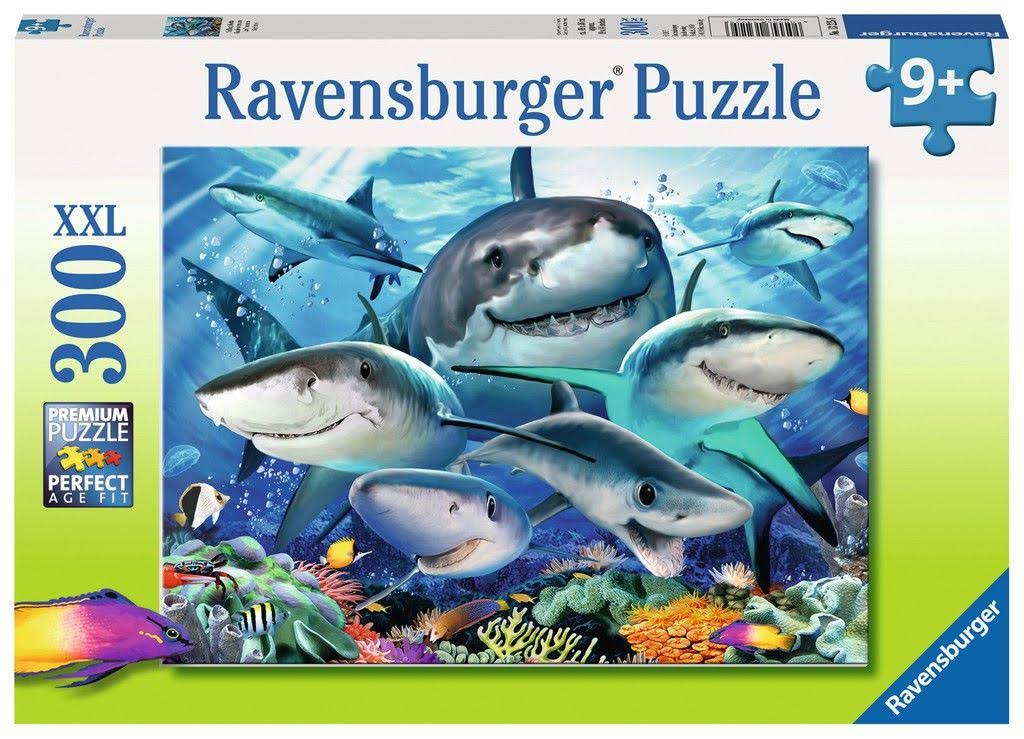 Ravensburger Smiling Sharks Jigsaw Puzzle - 300 Pieces