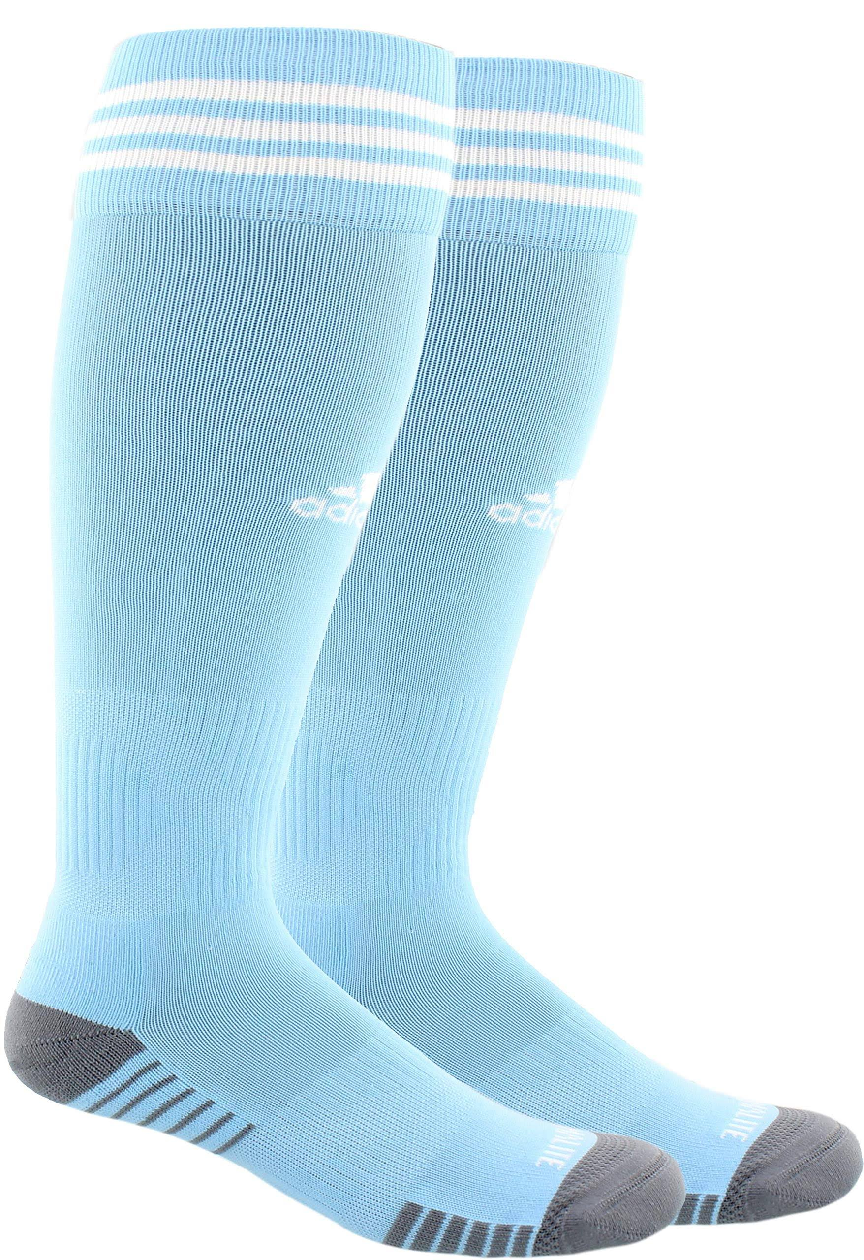 Adidas Copa Zone Cushion IV Socks - Sky Blue/White - L