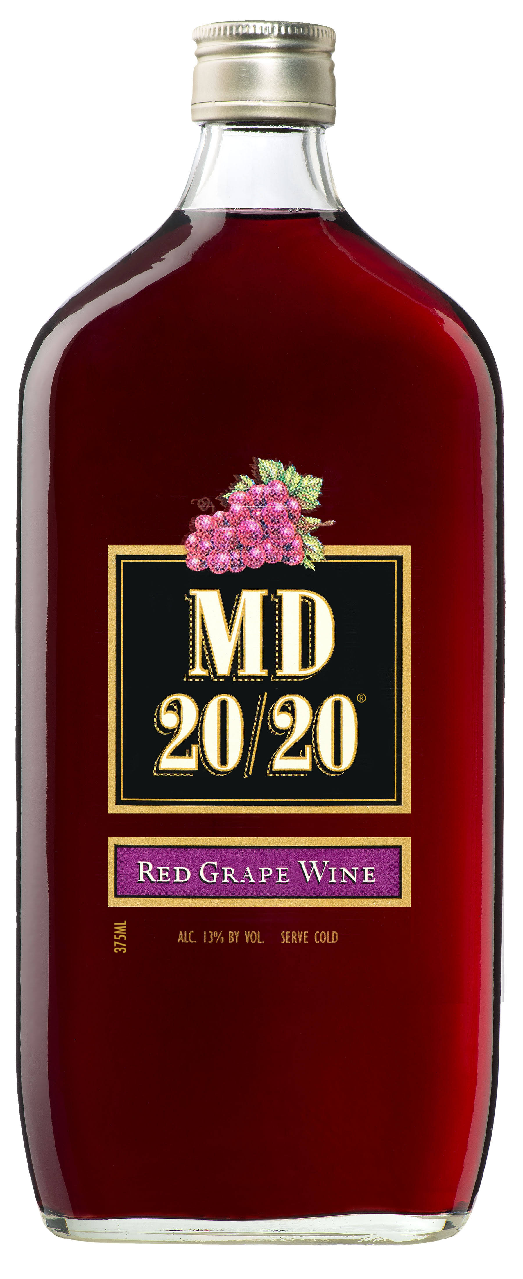 MD 20/20 Red Grape Flavored Wine - 375ml