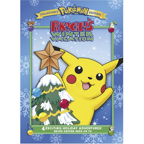 Pikachu's Winter Vacation DVD