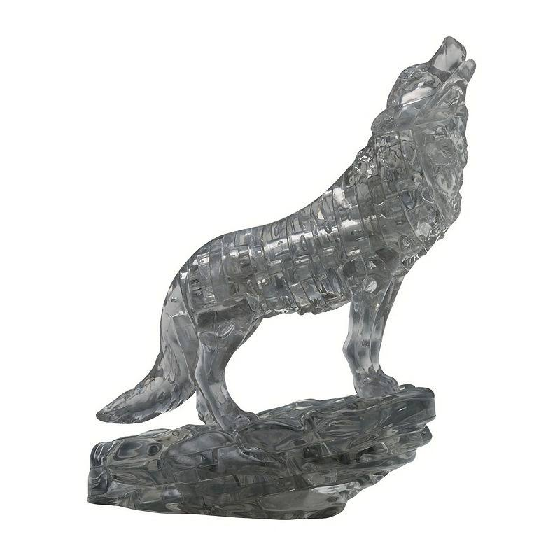 Bepuzzled 3D Crystal Puzzle - Black Wolf