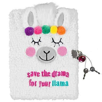 3C4G Llama Plush Journal