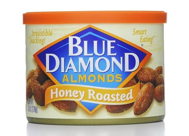 Blue Diamond Honey Roasted Almonds - 6oz