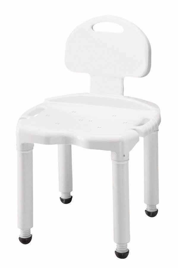 Apex Carex Health Brands Universal Bath Bench with Back