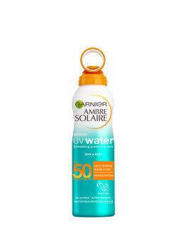 Ambre Solaire UV Water Clear Sun Cream Mist - SPF50, 200ml