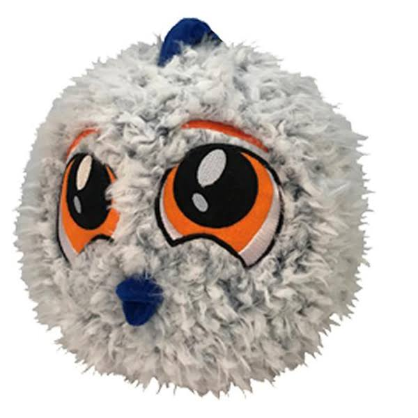 Petlou Petlove Fur Ball Fish Dog Toy, 9""