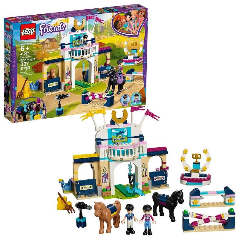 Lego Friends Stephanie's Horse Jumping Building Toy - 337pcs