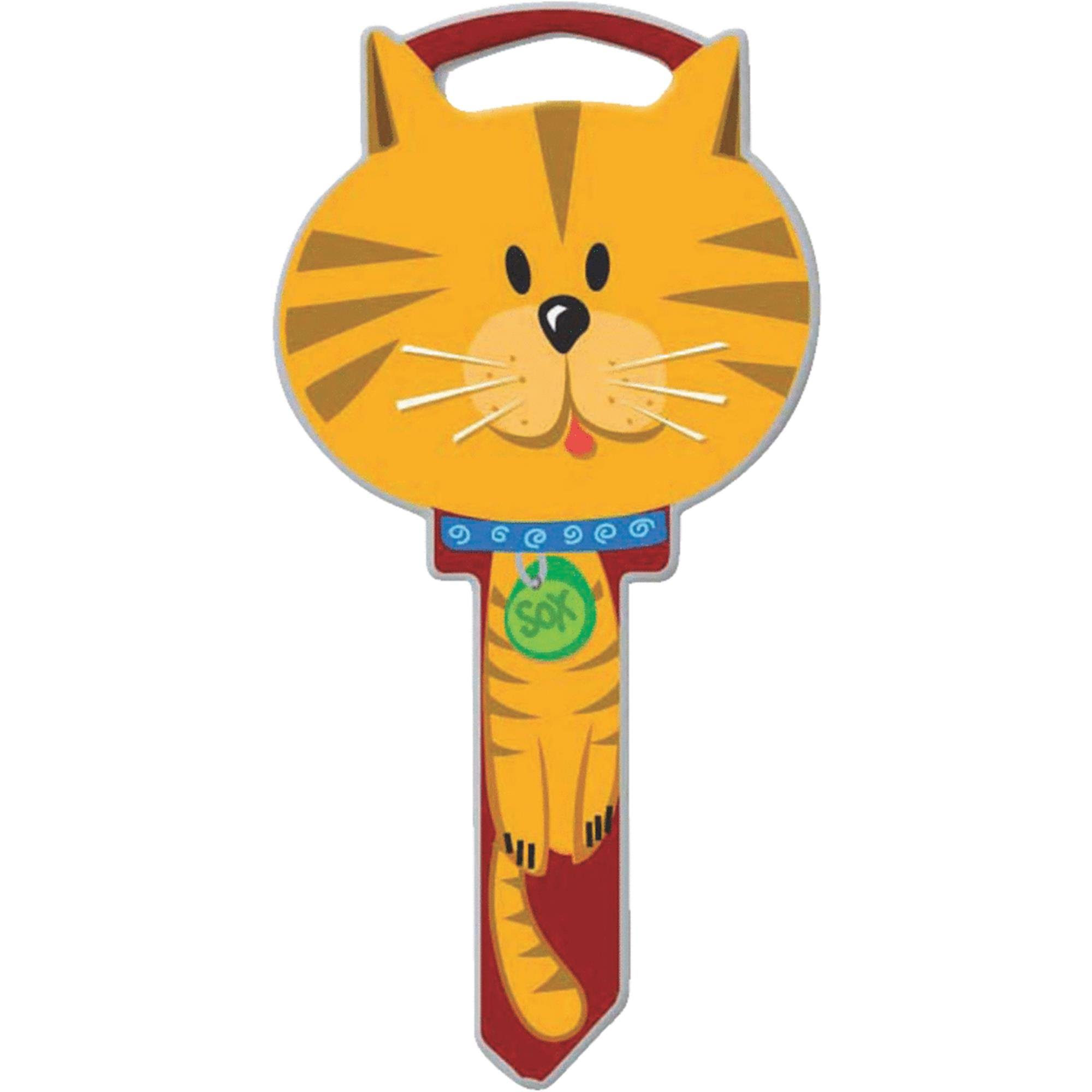 Lucky Line Cat Key Blank