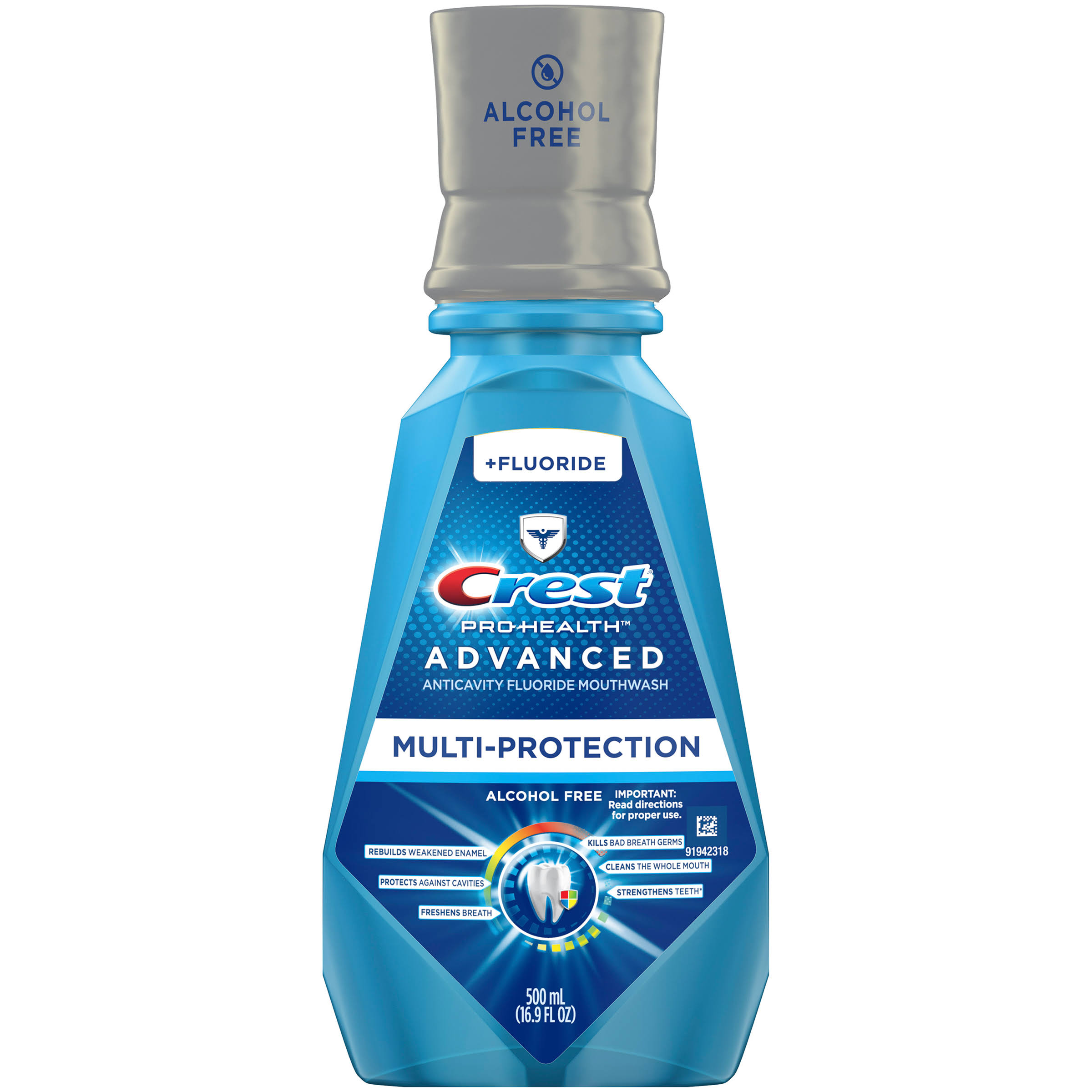 Crest Pro Health Advanced with Extra Deep Clean Mouthwash - 16oz
