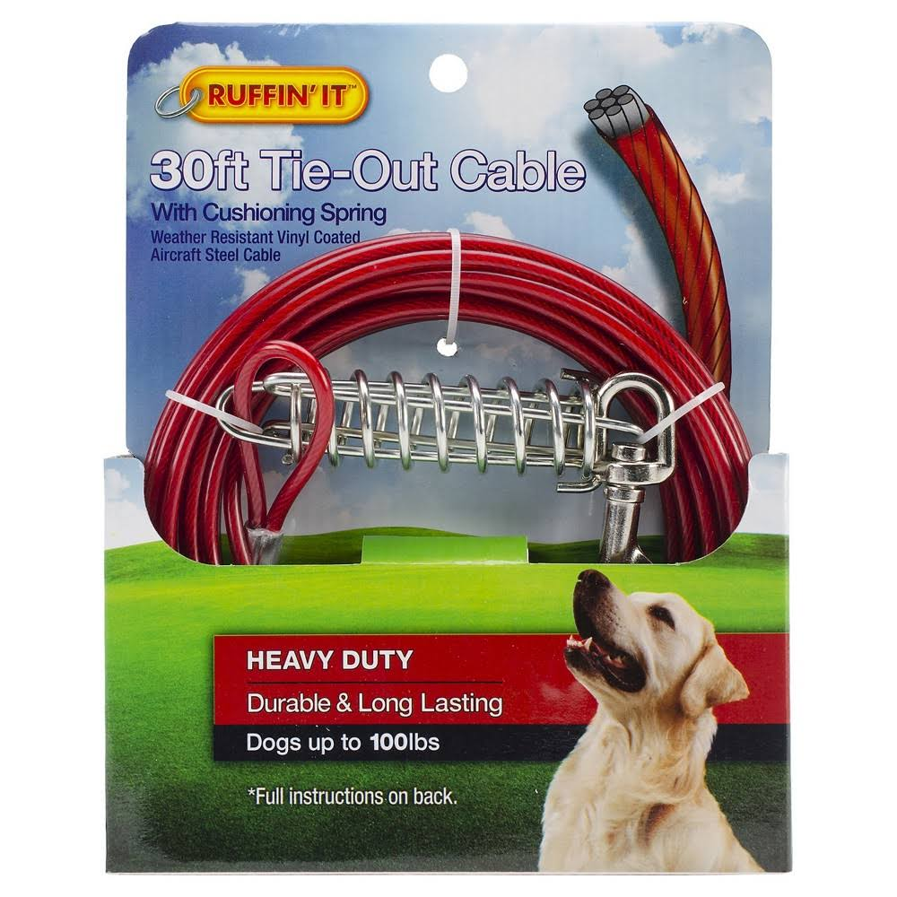 Westminster Pet Products 29230 Heavyweight Dog Tie Out Cable - 30'