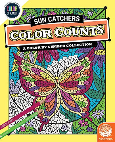 MindWare Color by Number Counts Sun Catchers