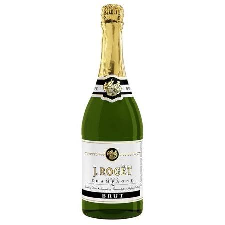 J Roget Brut Champagne, United States (Vintage Varies) - 750 ml bottle