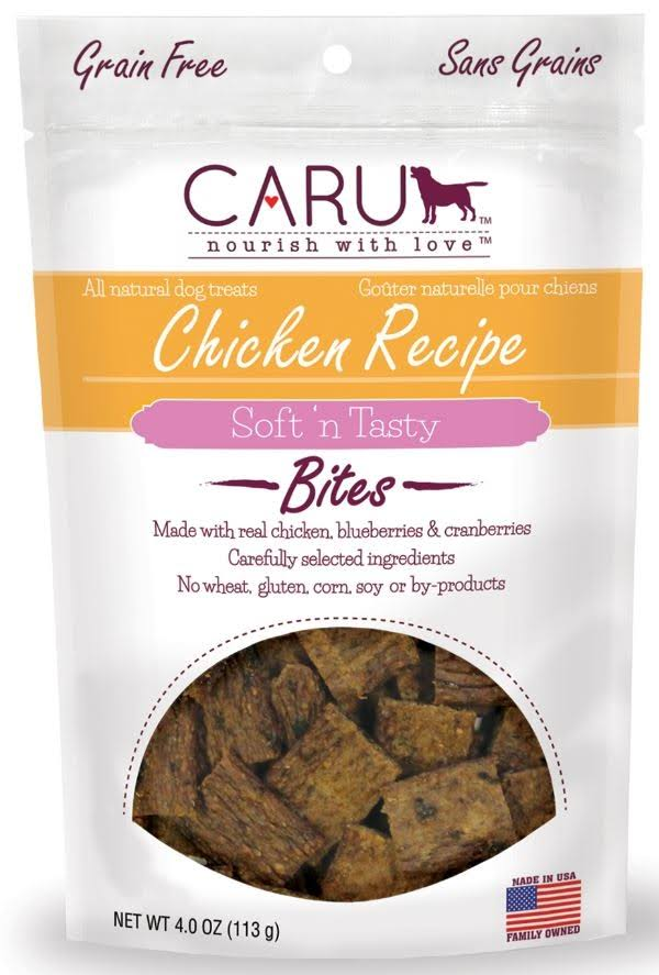 Caru Natural Bites - Chicken Recipe - 4 oz