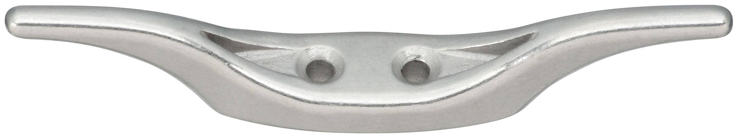 National Hardware N348-474 Rope Cleat, Stainless Steel, 4-1/2""