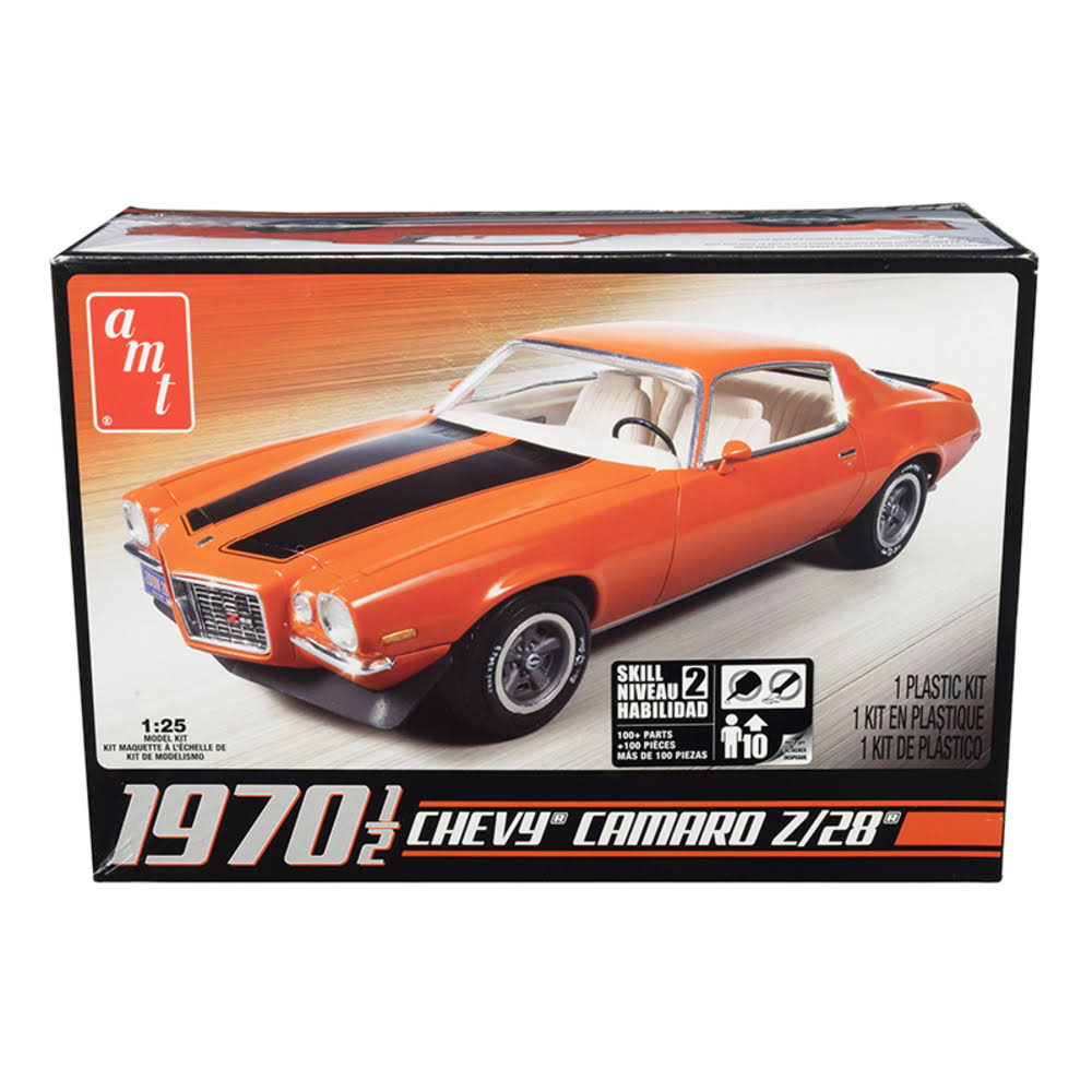 Amt AMT635L 1970 1/2 Chevy Camaro Z28 Diecast - 1/25 Scale