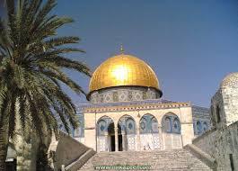 دلك في الأخبار مثلا: إدا أتى خبر عن المسجد الأقصى