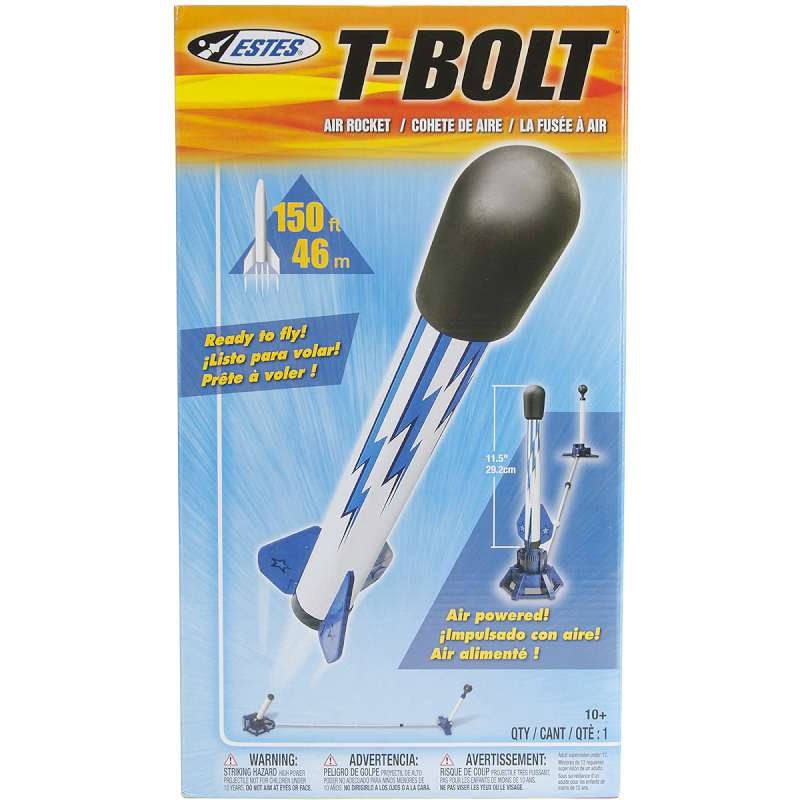 Estes T-Bolt Air Rocket Launch Set