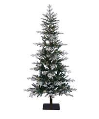 7ft Black Pencil Christmas Tree by Unlit Artificial Christmas Trees Tree Classics