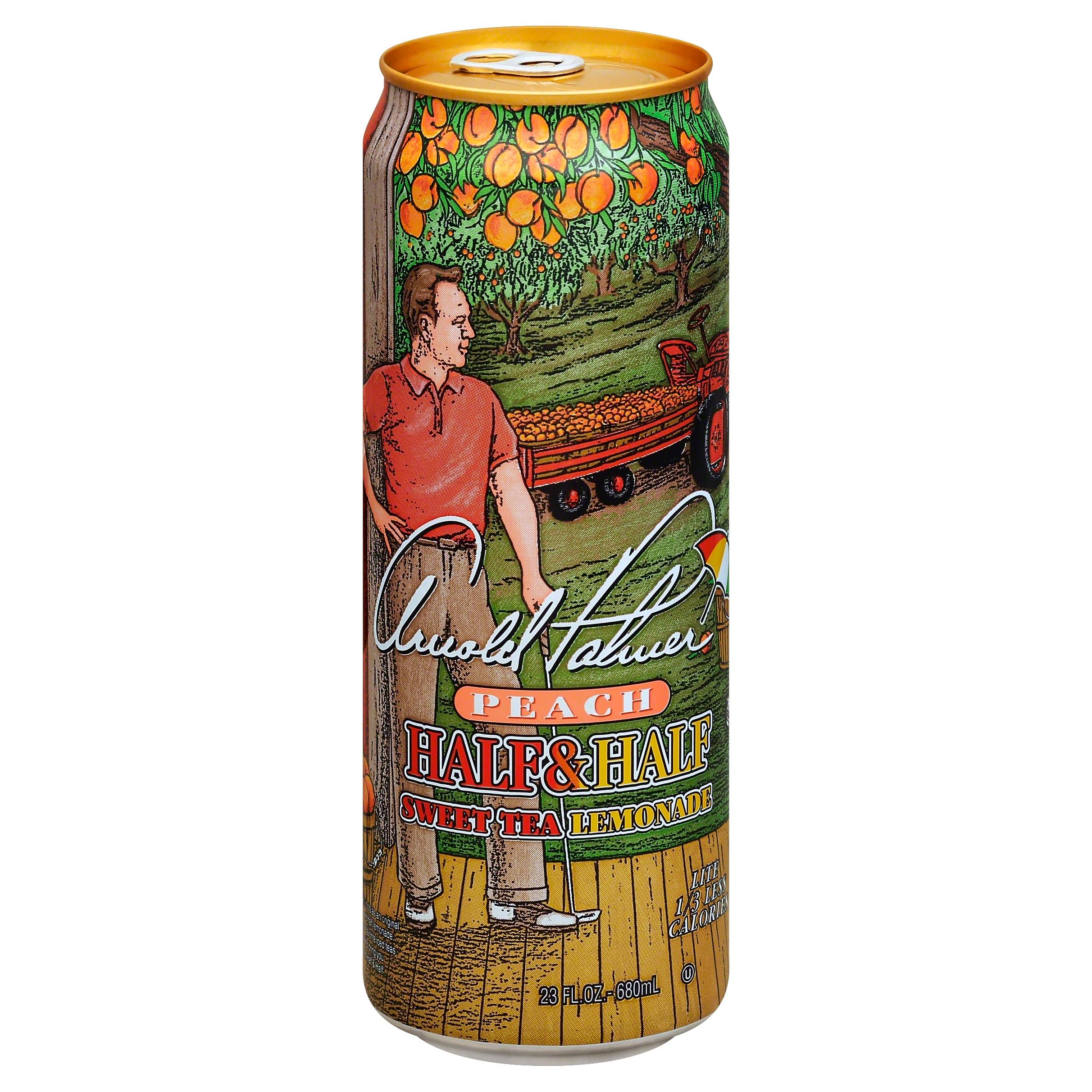 Arizona Arnold Palmer Half and Half Sweet Tea Lemonade - 23oz, Peach