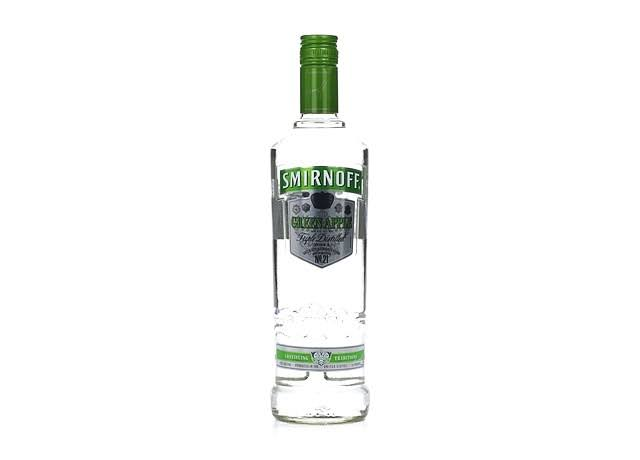 Smirnoff Vodka, Green Apple - 750 ml