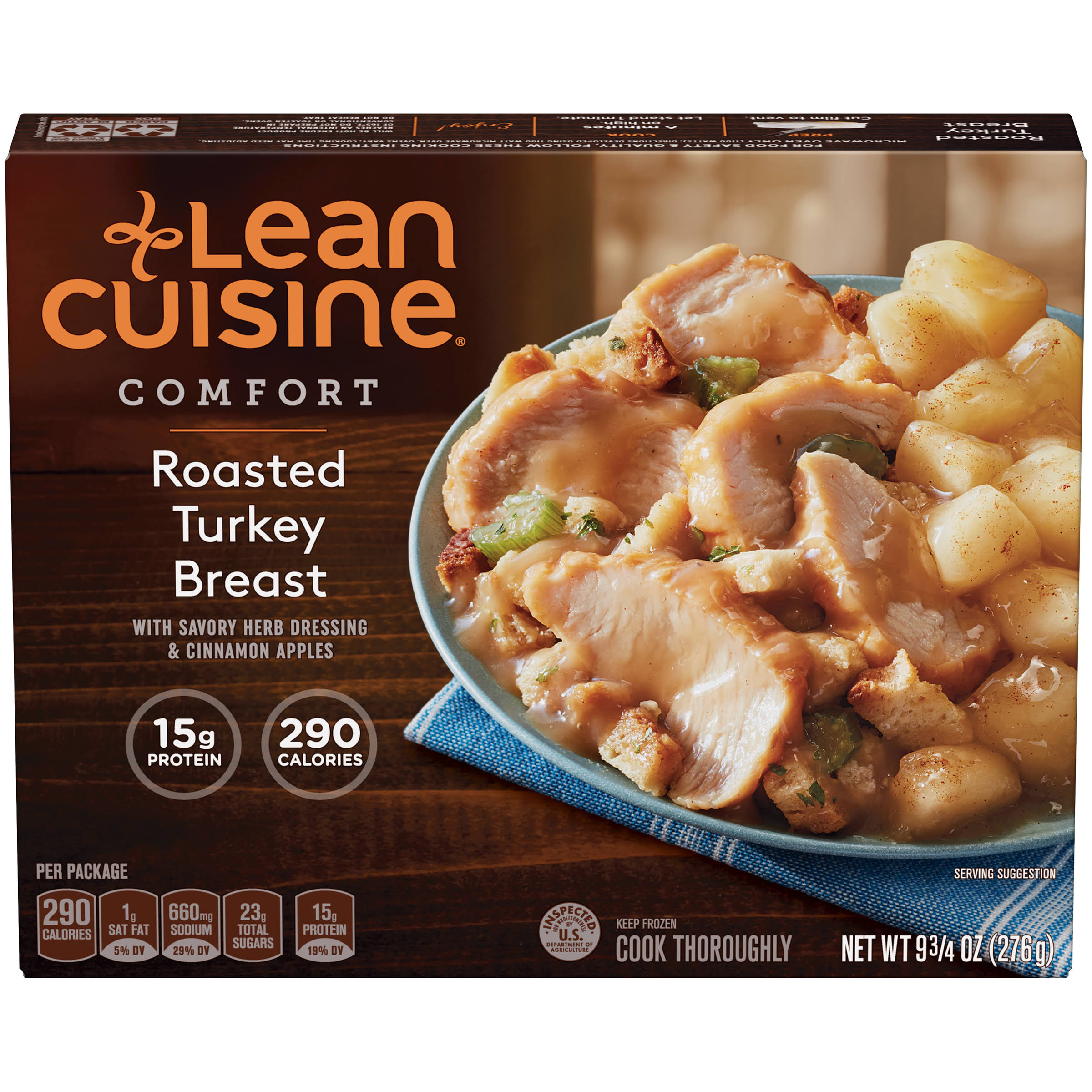 Lean Cuisine Comfort Roasted Turkey Breast - 9 3/4oz