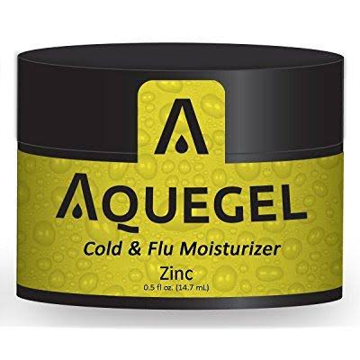 Aquegel Cold and Flu Moisturizers - Plus Zinc, 0.5oz