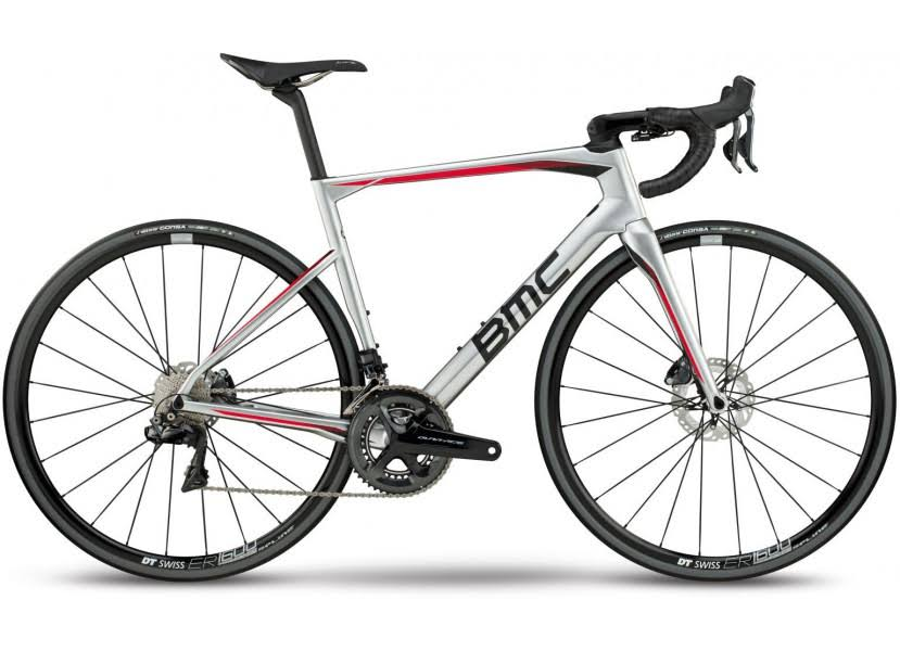 BMC Roadmachine 01 LTD 2018 Road Bike | Silver - 56cm