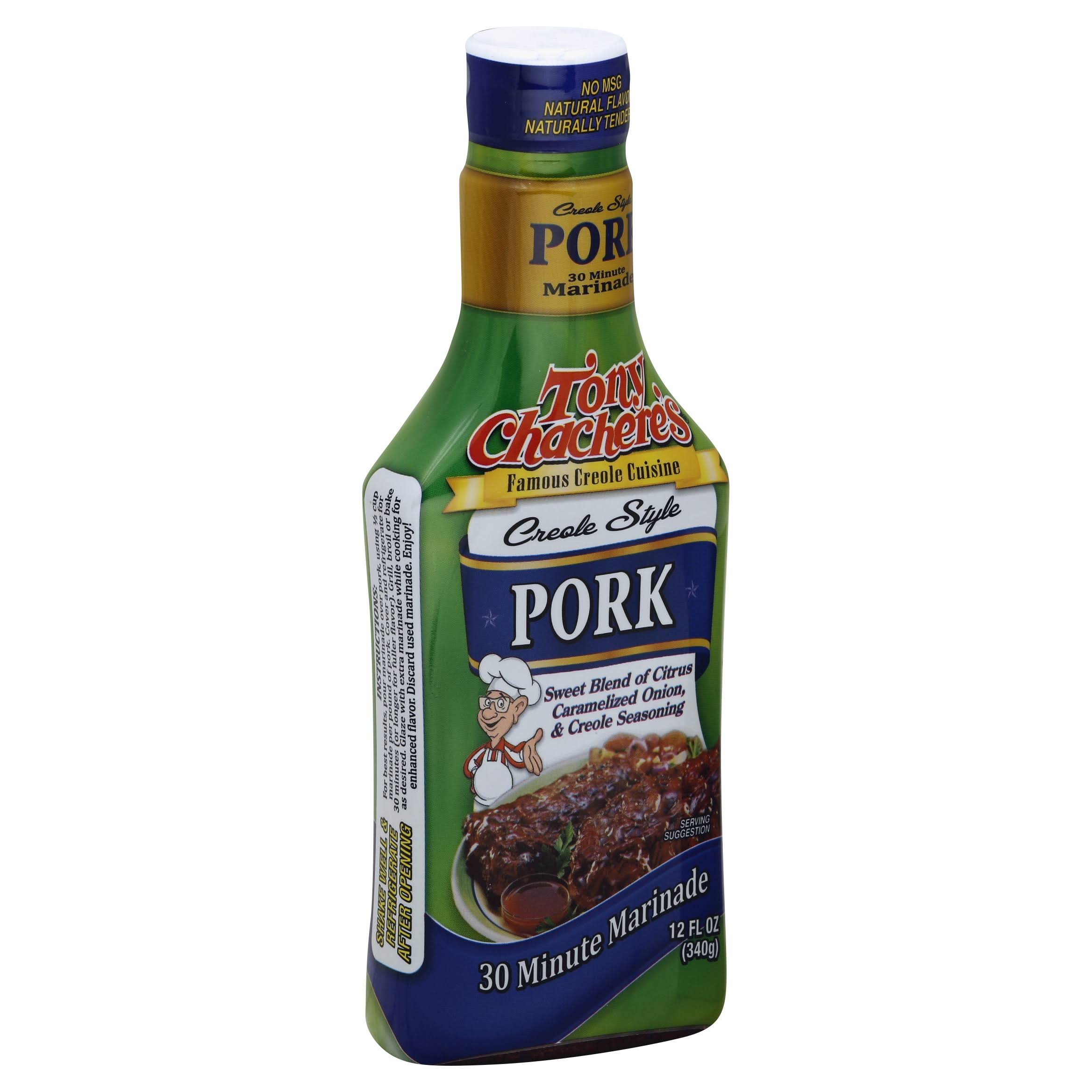 Tony Chachere's Creole Style Marinade Seasoning - Pork, 12oz