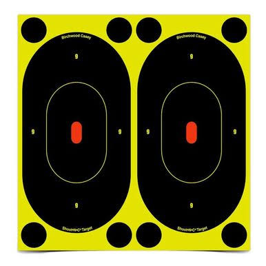 "Birchwood Casey Shoot N C Targets - 7"", Pack of 12"