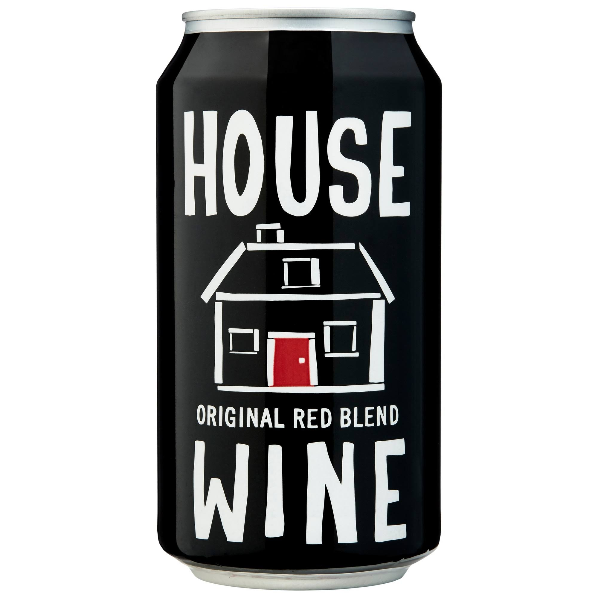 House Wine Red Blend, Original - 375 ml