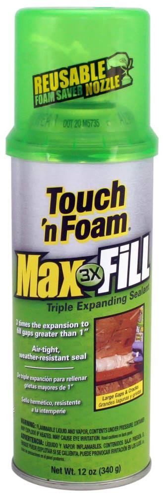 Touch 'n Foam MaxFill Maximum Expanding Sealant