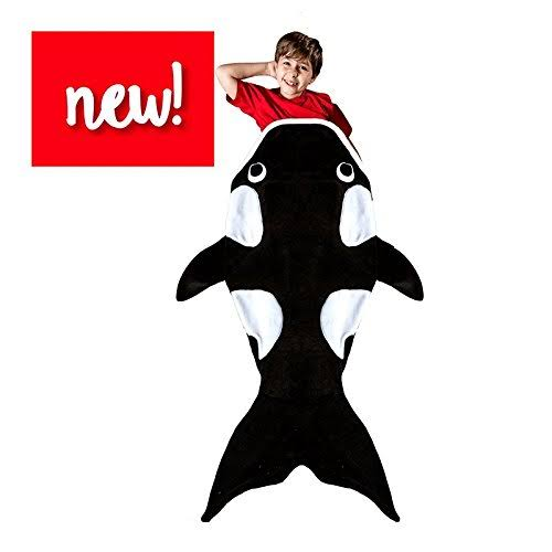 Orca Whale Blanket for Child