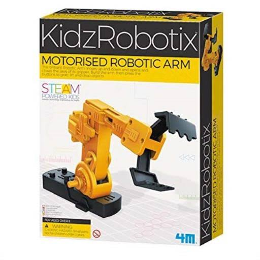 Motorized Robotic Arm 4M Kit