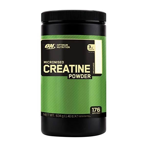 Optimum Nutrition Micronized Creatine Powder- Unflavored, 600g, 114 Servings