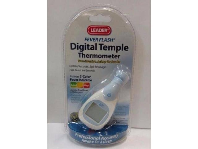 Leader 6 Second Temple Thermometer, 1ct 096295130089S1251